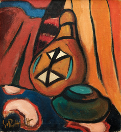 Still Life with a Calabash Bottle