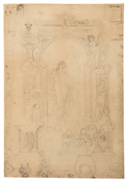 Design for the Final Composition Drawing for the Allegory of Opera
