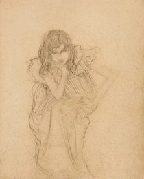 Seated Girl, Study for