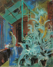Josef Floch, 1958, 82 × 65,5 cm (32,3 × 25,8 in), Oil on canvas
