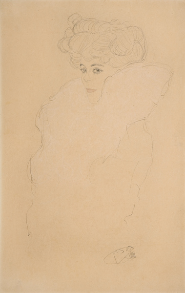 Gustav Klimt 540 × 344 mm (21,3 × 13,5 in)